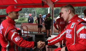 Gill and Lappi Shake Hands