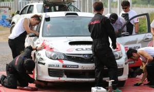 Cusco Service at Rally Thailand 2013