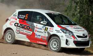 Rally Thailand 2013 - Mike Young Toyota Vitz