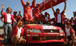 MRF Team India Rally 2003