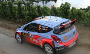 WRC Germany Danni Sordo Hyundai