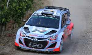 WRC Germany Thierry Neuville Hyundai