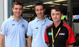 Hayden Paddon, Malcolm Read, Mike Young