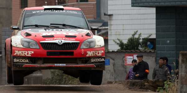 Dramatic First day of China Rally