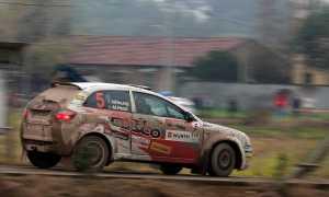 Michael Young, China Rally 2014