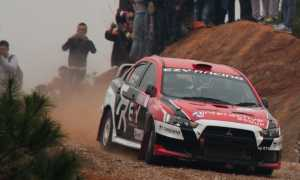 Dinesh Deheragoda - China Rally 2014