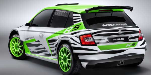 Skoda Shows Off New R5
