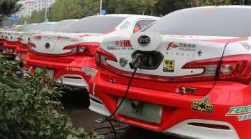Hybrid Rallying, Rally China 2014