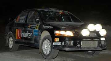 Darren Turner Rally Whangarei