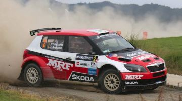 Pontus Tidemand, Rally Whangarei 2015