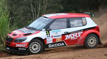 Gaurav Gill, Rally New Caledonia 2015