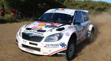Jean-Louis Leyraud, Rally New Caledonia 2015