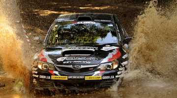Michael Young, Rally of Queensland 2015