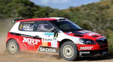 Gaurav Gill, Rally New Caledonia 2015