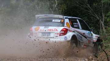 Jean-Louis Leyraud, Rally New Caledonia 2015