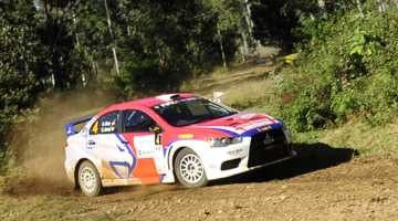 Subhan Aksa, Rally of Queensland 2015