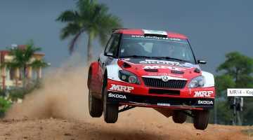 Jan Kopecky, Malaysian Rally 2014
