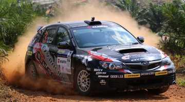 Mike Young, Malaysian Rally 2015