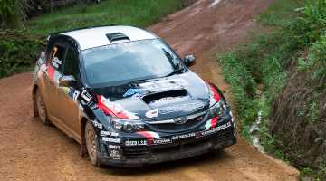 Genki Takeuchi, Malaysian Rally 2015