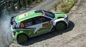 Skoda Fabia R5, Rally Germany 2015