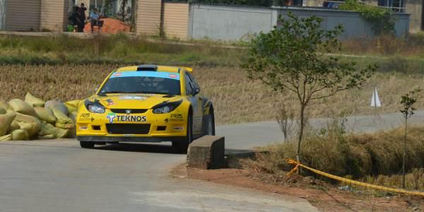 Alister McRae, China Rally 2012
