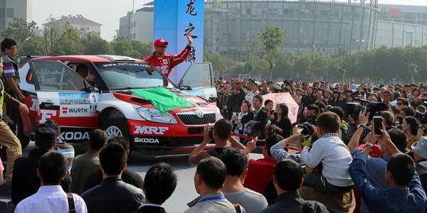 Gaurav Gill, China Rally 2013