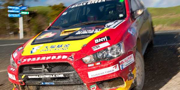 Richard Mason steps up for Rally China