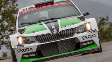 Pontus Tidemand, Rally Spain 2015