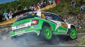 Skoda R5 at Rally Germany 2015