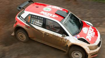 Pontus Tidemand, China Rally 2015