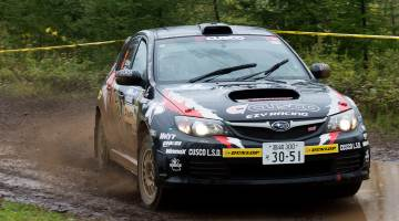 Mike Young, Hokkaido Rally 2015