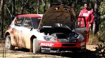 Gaurav Gill, International Rally of Queensland 2015