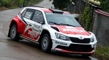 Pontus Tidemand, China Rally 2015