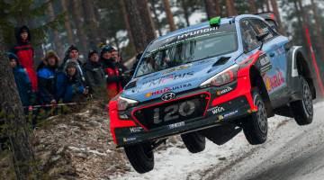 Hayden Paddon, Rally Sweden 2016