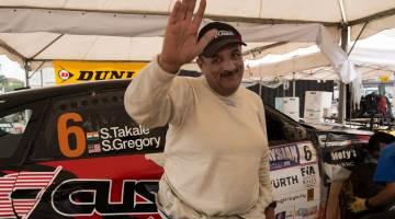 Sanjay Takale, Malaysian Rally 2014