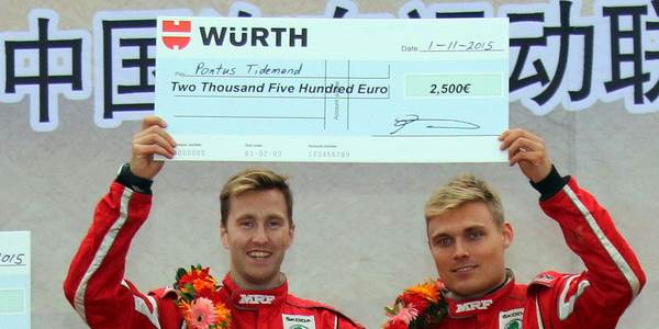 International Drivers chase Würth Cup