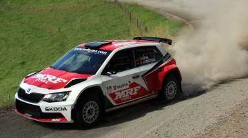 Fabian Kreim, Rally Whangarei 2016 testing