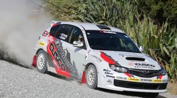 Mike Young, Rally Whangarei 2016 testing