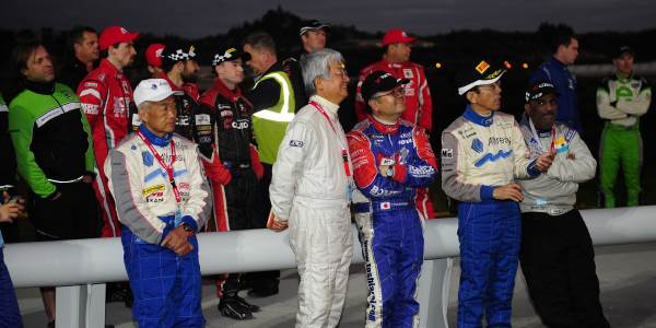 Drivers from five countries head to Queensland