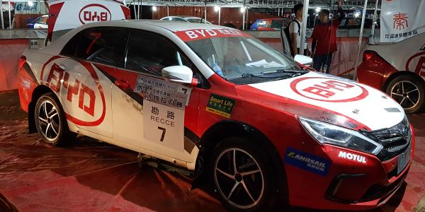Young Debuts Hybrid Rally Car in APRC