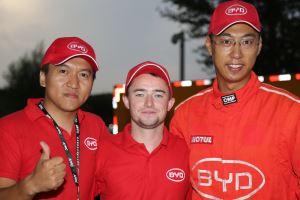 Mr LV, Mike Young and Longxi Zhang, Rally China 2016