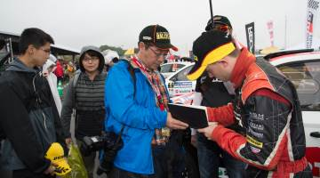 Mike Young, Rally Hokkaido 2016