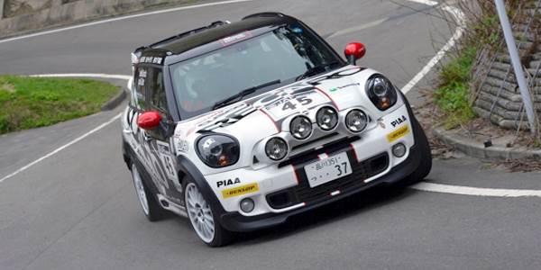 Mini Countryman Enters APRC Japan