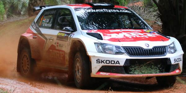 Gill Closes in on APRC title