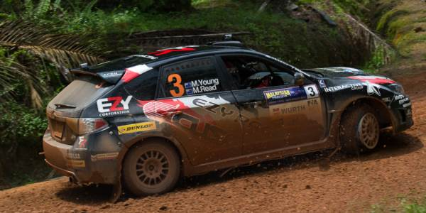 "Young: ""Toughest APRC rally"""