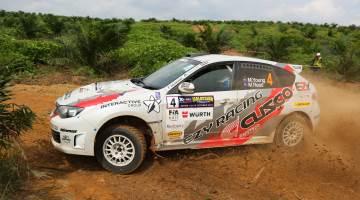 Mike Young, Malaysian Rally 2016