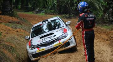 Mike Young, Malaysian Rally 2016
