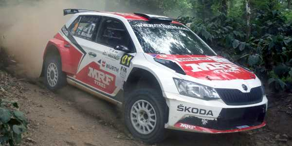 Gill starts India Rally as Champion