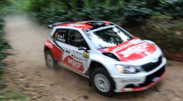 Gaurav Gill, Rally India 2016