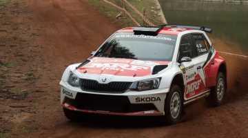 MRF Skoda, India Rally 2016